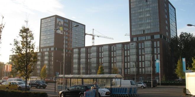 Twee! Nieuw wooncomplex in de Spoorzone