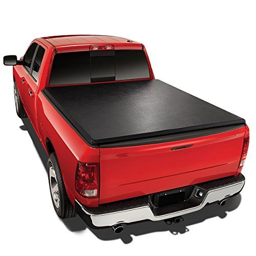 Toyota Tundra 5.5' Vinyl Soft Tri-Fold Tonneau Cover + Utility Track Kit:   Folding tonneau covers offer great protection for your gear with an easy-open and versatile design. Folding tonneau covers have all the convenience of soft covers with the structure and security of a hard cover. Easy to install and simple to remove, folding truck bed covers keep your gear protected without slowing you down. Whether you want one panel open or open access to your entire bed, folding bed covers ar...