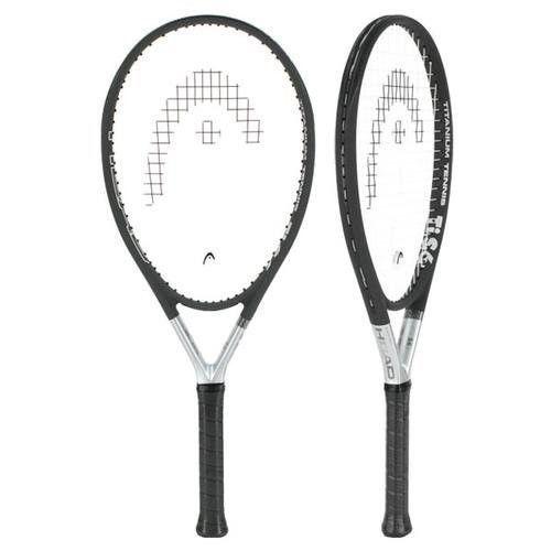 Titanium Head Tennis Racquet Straight Beam Ultra Light Black Sporting Goods 4.25 #HeadTennis