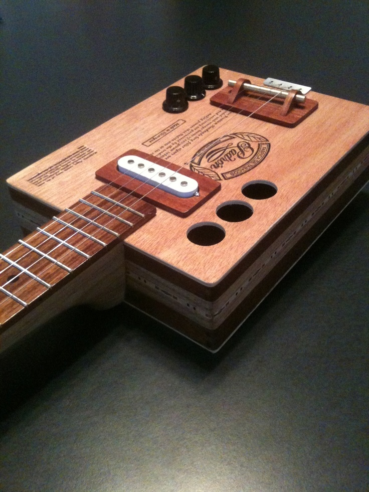 cigar box guitar instructions