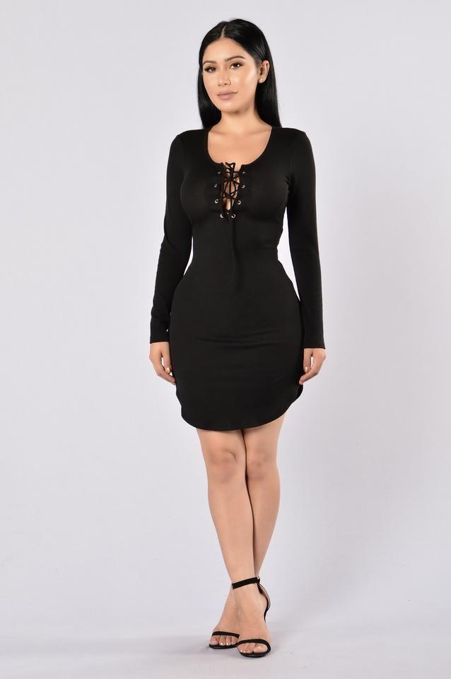 Friday Night Fever Dress - Black