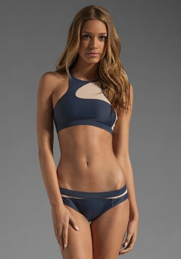 ADIDAS BY STELLA MCCARTNEY Swim Top in Urban Sky/Soft Powder at Revolve Clothing - Free Shipping!