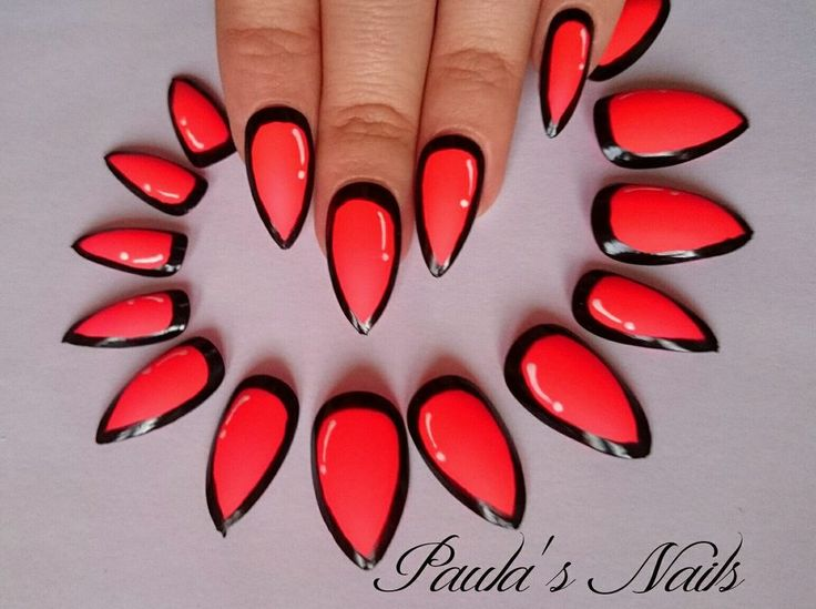 The 35 best Stiletto Nails Hand Painted images on Pinterest | Hand ...