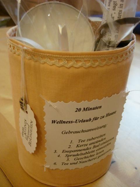 Bastelforum - 20 Minuten Wellness für Daheim