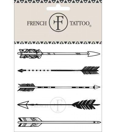 Flèches - Tatouage éphémère