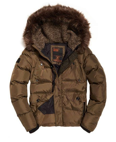 Superdry Chinook Parka Jacket Green