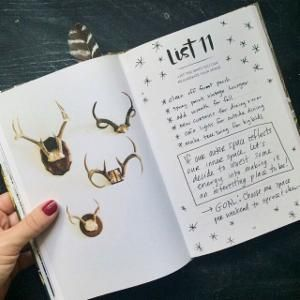 Have you started filling out your copy of The 52 Lists Project? We're so, so excited to finally have copies in the shop!!