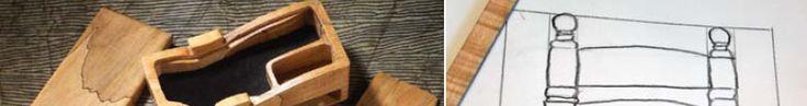Ah! E se falando em madeira...: Desenho + Projeto de caixa decorativa