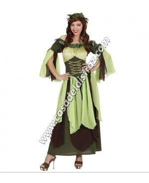 Disfraz de Madre Naturaleza para Mujer #FeriaMedieval #DisfracesMedievales http://casadeldisfraz.com