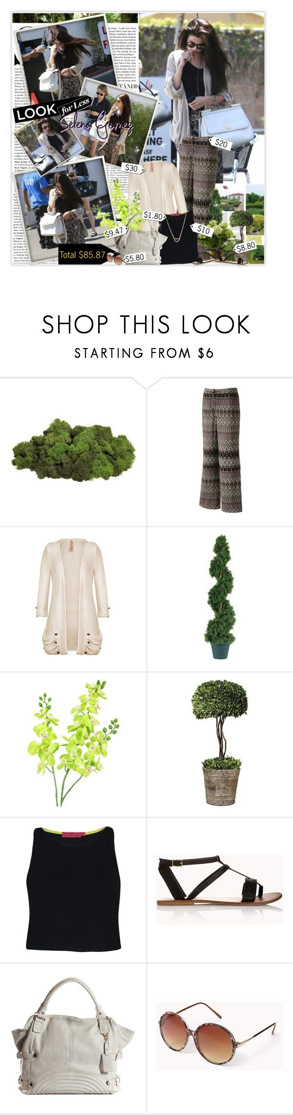 """""""Selena Gomez"""" by planetlipstick ❤ liked on Polyvore featuring Crate and Barrel, Jennifer Lopez, Winward, Uttermost, Boohoo and Forever 21"""