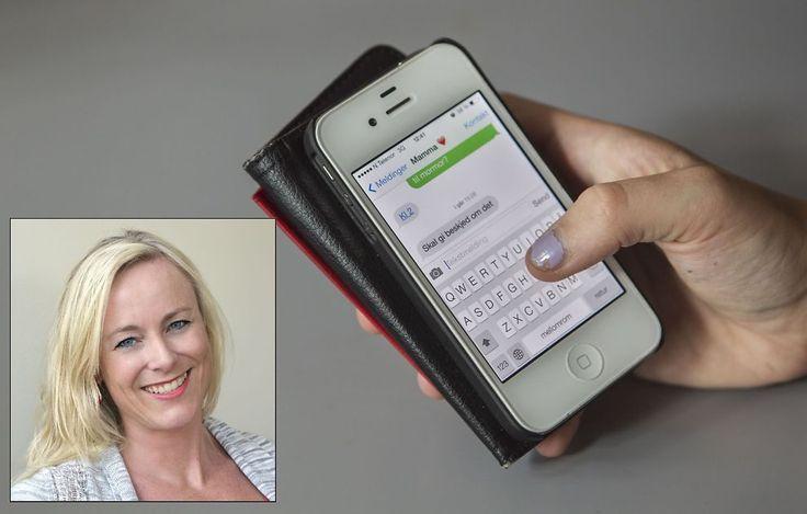VIL HA OPPMERKSOMHET FRA FORELDRE: Ifølge norske helsesøstre er det stas for norske tenåringer og barn å få telefoner og oppmerksomhet fra mamma og pappa.