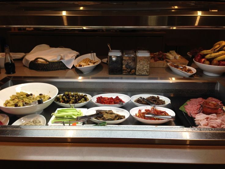 Executive Lounge antipasti at the Hilton Surfers Paradise on the Gold Coast in Queensland, Australia