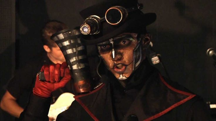 Steam Powered Giraffe - Brass Goggles - Just follow a bouncing pug head * get #Steampunkgoggles madness with #steampunk music