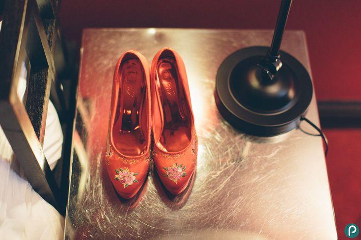 Wedding shoes | Wedding photographer London | Chelsea wedding | Jessica+Vladimir preview