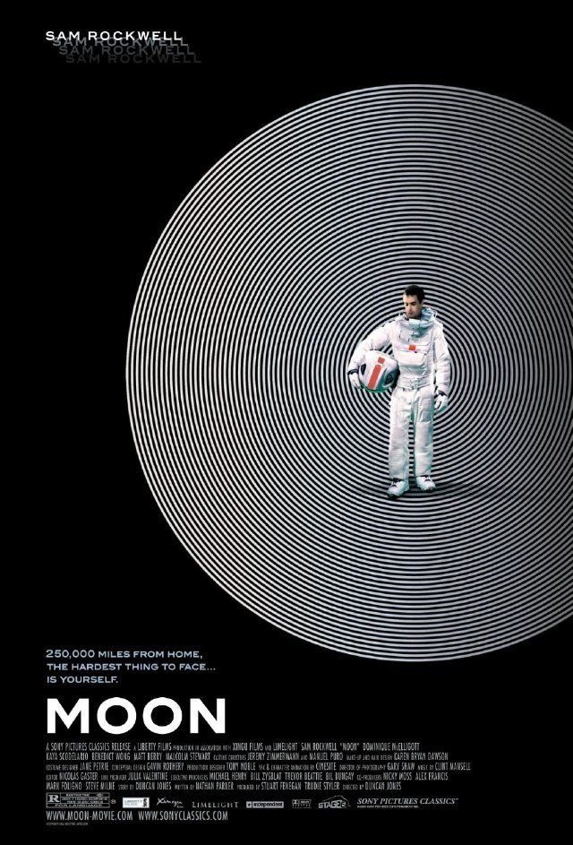 Moon (2009) - Astronaut Sam Bell has a quintessentially personal encounter toward the end of his three-year stint on the Moon. --- Director: Duncan Jones; Writers: Duncan Jones (story), Nathan Parker; Star: Sam Rockwell