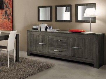 Modern Sideboard Portofino - $799.00 - modern - buffets and sideboards - new york - MIG Furniture Design, Inc.  Really loving this for the family room.  Too dark, though?