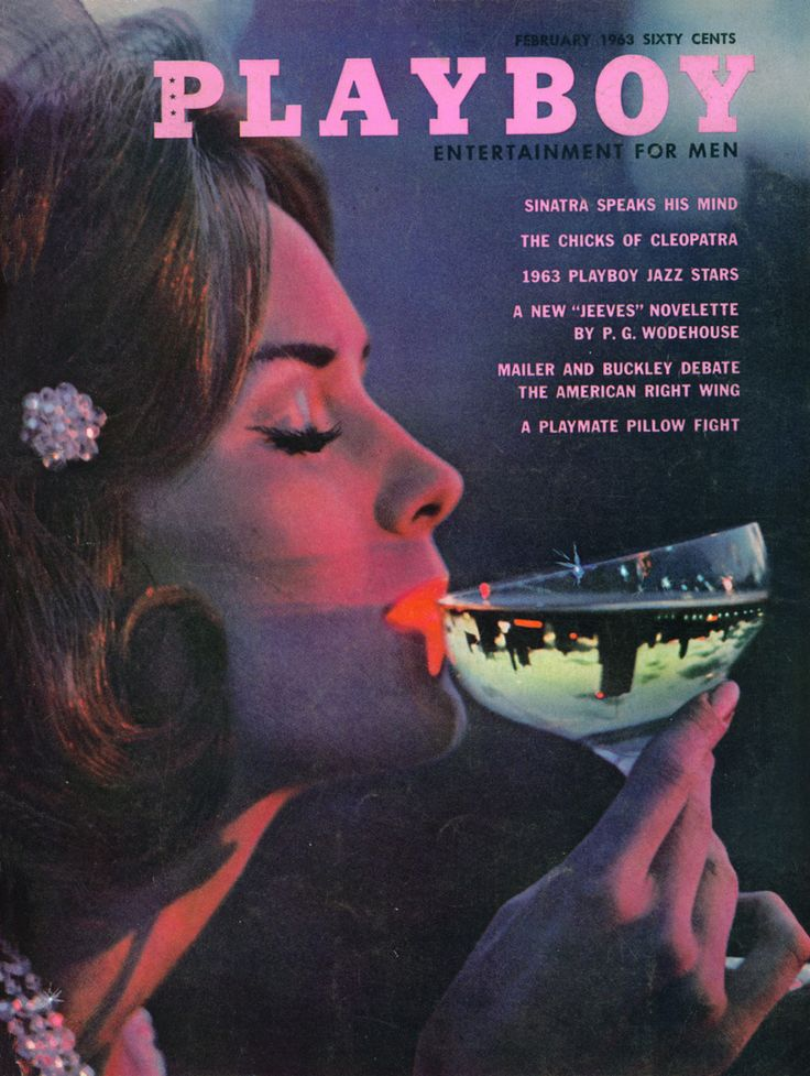damiensaatdjian:  Playboy, February 1963Cover: Toni Ann Thomas by Mario Casilli