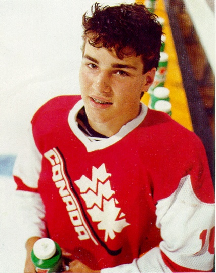 Young Eric Lindros | Team Canada | Hockey
