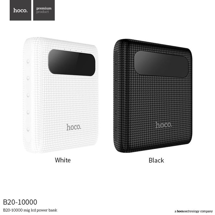 Check out our new product ::: 10000mAh External Battery Charger Dual USB Port LED Display Power Bank Phone Accessories HOCO B20 :::     Or buy it in our Amazon shop:  https://www.amazon.com/s?merchant=AG1TOMJ1B7AMV  :::    Tags: Black, White, Accessories, Phone Accessories, Power Bank, Hoco