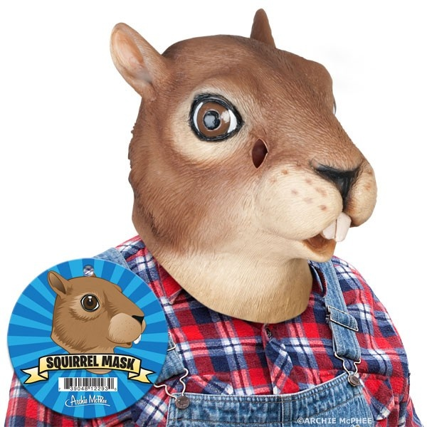 Squirrel Mask...from Archie McPhee so wrong it's right