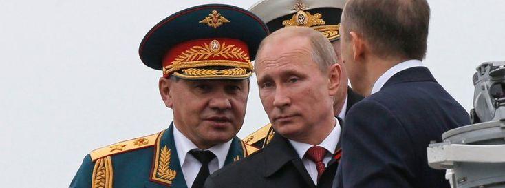 Wladimir Putin auf der Krim (im Mai 2014): PR-Kampagne für die Intervention