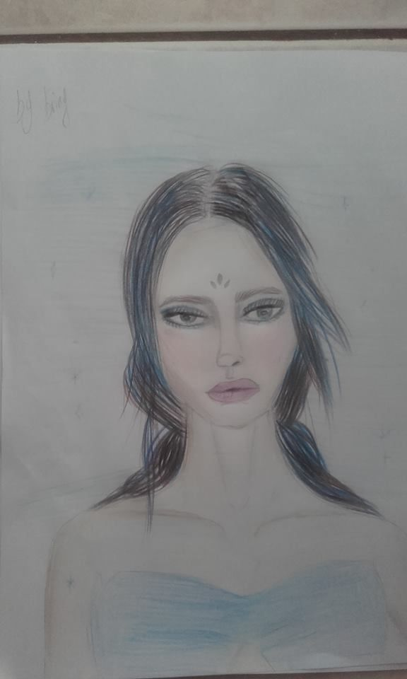 Fairy unique face  #drawing time