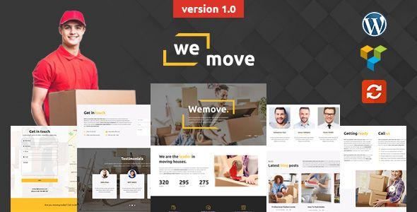 WeMove - Home Moving & Logistic WordPress Theme by modeltheme   ThemeForest