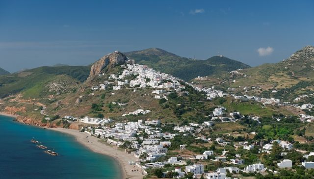 VISIT GREECE  The extended sandy beach of Molos is among the most cosmopolitan spots on the island. #Skyros #island #Greece #Sporades #greekphotos