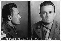 Prison mugshot of Korolev, his darkest hour during Stalin's terror in 1938. Credit: Natalya Koroleva. (241)