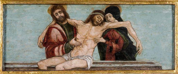 Giovanni Bellini, Pieta ze św. Janem Ewangelistą