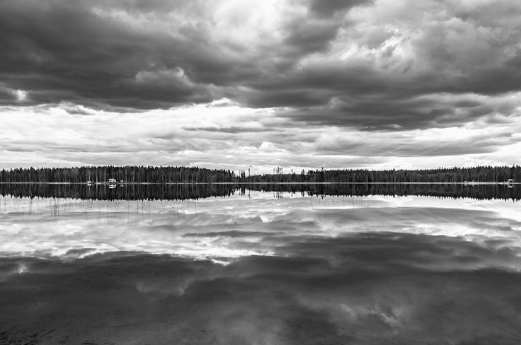 Mirror of clouds B&W by Graziella Serra Art & Photo on 500px