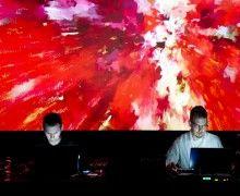 AV-arkki, Suomalaisen mediataiteen levityskeskus  Kuva: Pink Twins Live