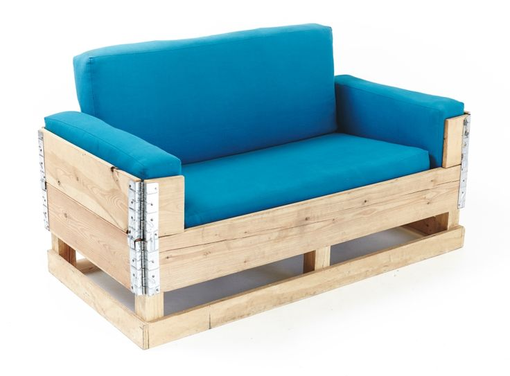 """Collapsible """"apple crate"""" couch"""