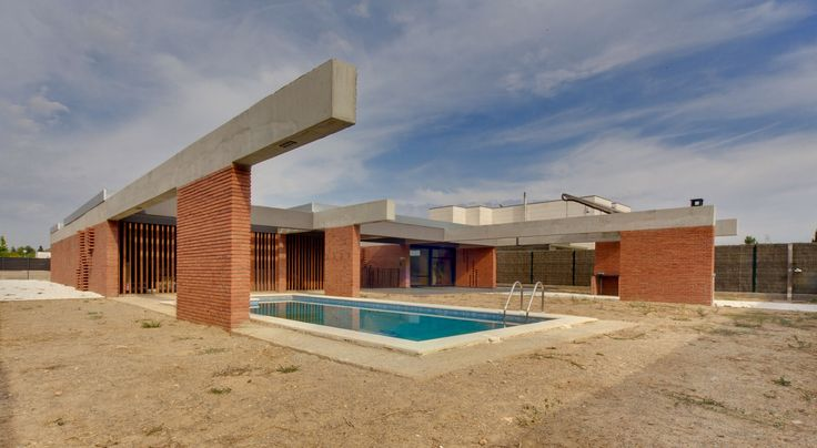 Casa unifamiliar en Alpicat (Lleida). Proyecto de 2009 en colaboración con Carles Enrich.