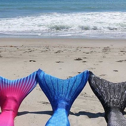 Swim like a real mermaid inFin Fun's Swimmable Mermaid tails!