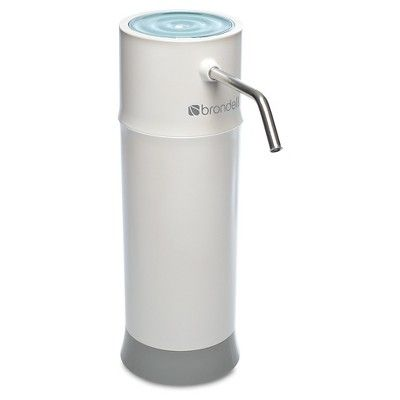 Brondell H2O+ Pearl Countertop Water Filter System, Bleach White