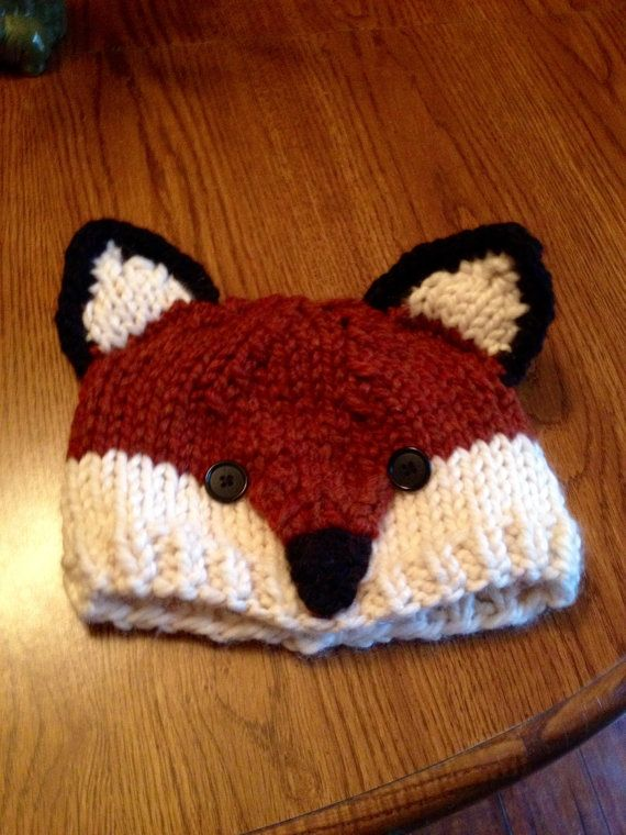 Knitting Pattern For Fox Hat : 86 best images about Knit/Crochet ideas on Pinterest Free pattern, Ravelry ...