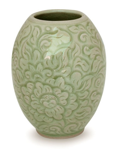 NOVICA Thai Peony Celadon Ceramic Vase Green * Home decor details can be found by clicking on the image.  sc 1 st  Pinterest & 12 best Celadon images on Pinterest | Glazed ceramic Dinnerware and ...