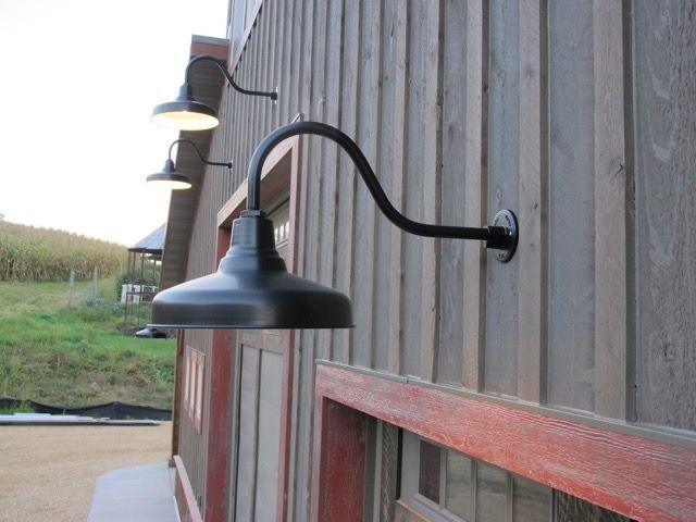 Gooseneck Barn Lights Exterior Barn Lighting Barn Light Fixtures Outdoor Barn Lighting
