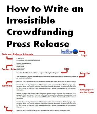 press release free template