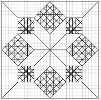 Blackwork&Free-hand Embroidery: Small Motif/Fill Pattern