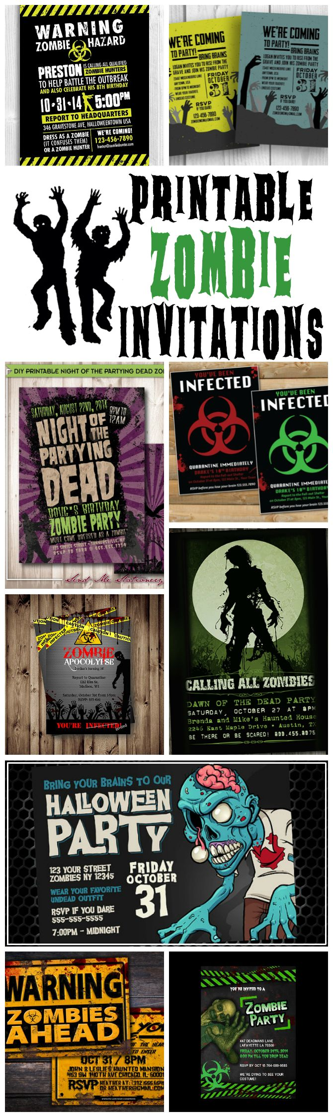 Best 25+ Zombie party ideas only on Pinterest | Zombie halloween ...