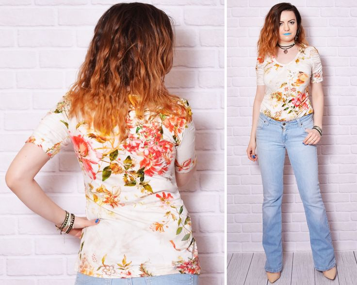 floral top outfit summer girly