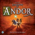 Legends of Andor is a cooperative adventure board game for two to four players in which a band of heroes must work together to defend a fantasy realm from invading hordes. To secure Andor's borders, the heroes will embark on dangerous quests over the course of five unique scenarios (as well as a final scenario created by the players themselves). But as the clever game system keeps monsters on the march toward the castle, the players must balance their priorities carefully.