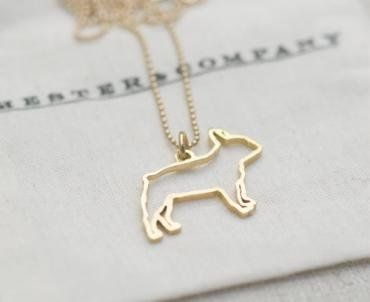 French Bulldog Necklace I NEED THIS MORE THAN I NEED ANYTHING ELSE