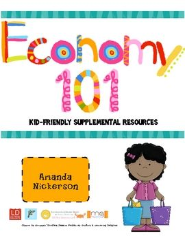 Are you looking for ways to spice up your elementary economics unit? This file includes several vocabulary posters with picture cues, lessons, and ...