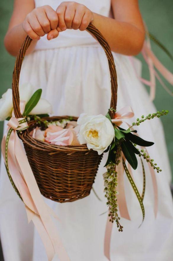 Interesting Flower Girl Basket Decorating Ideas 35 For Online