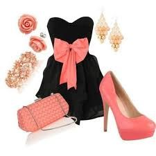 Classy pink bow outfit for a special occasion