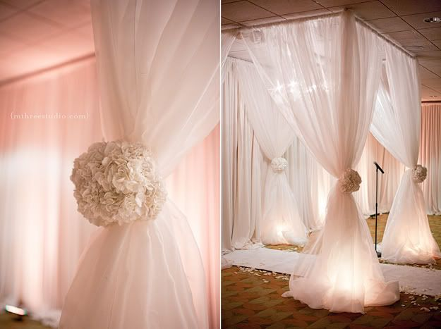 In case we need to be inside  chuppa another shot of my wedding decor I found on