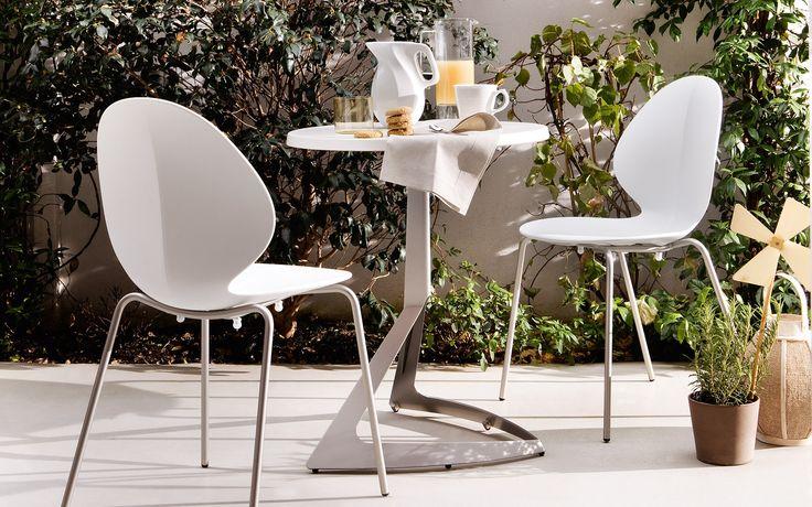 Evolve mesa de bar de diseño Calligaris | CS/4052-A D60